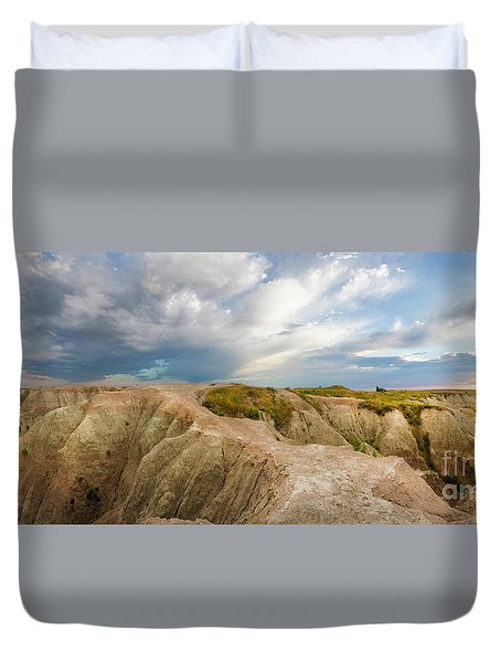 A New Day Panorama Duvet Cover