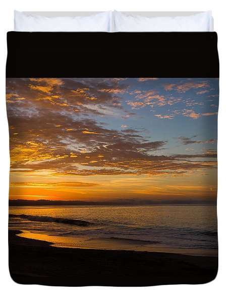 Duvet Cover featuring the photograph A New Day by Lora Lee Chapman