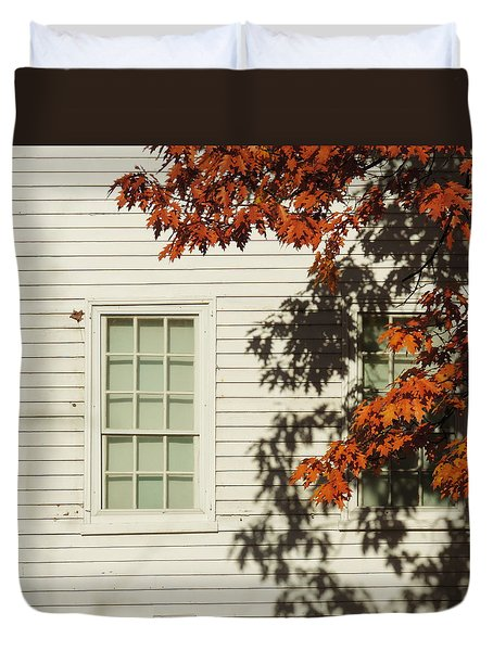 A New England Composition Duvet Cover