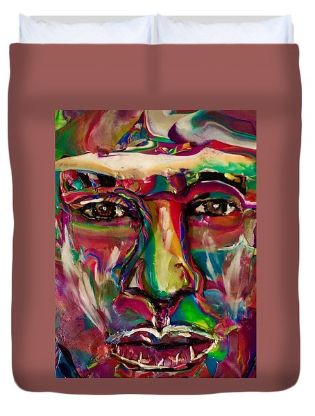 A New Man Duvet Cover