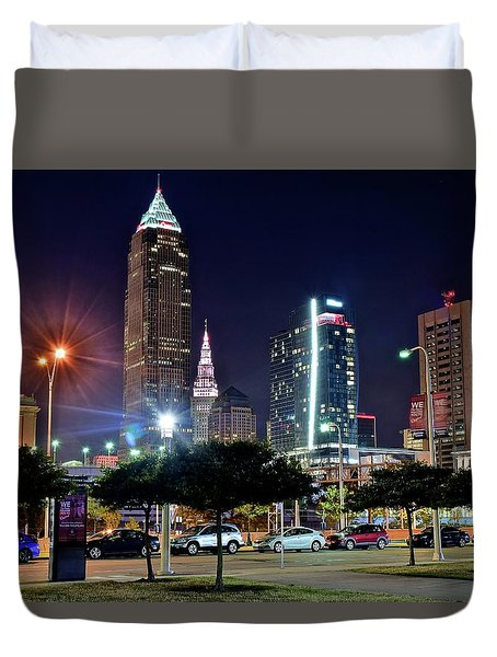 A New View Duvet Cover by Frozen in Time Fine Art Photography