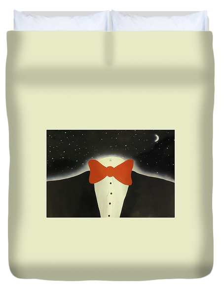 A Night Out With The Stars Duvet Cover by Thomas Blood