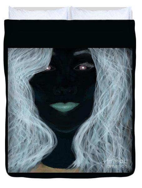 Painted Me Storm - X-men Duvet Cover