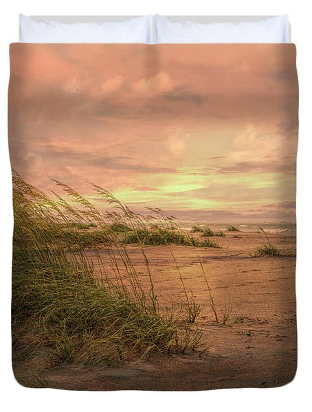 A Painted Sunrise Duvet Cover
