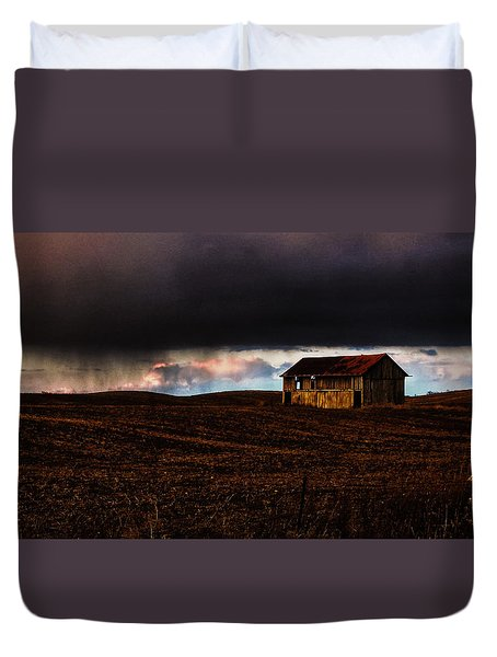 A Passing Rain Duvet Cover