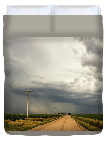 A Passion For Shelf Clouds 001 Duvet Cover
