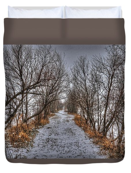 A Path Less Traveled Duvet Cover
