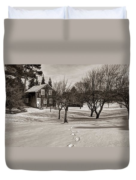 A Path To Home Duvet Cover