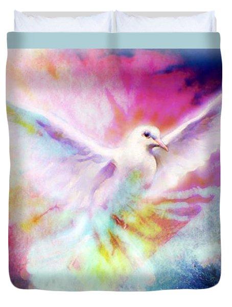 A Peace Dove Duvet Cover