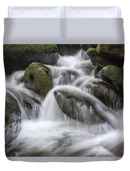 A Peaceful Flow Duvet Cover