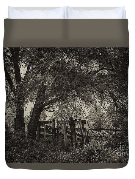 A Peacful Place Duvet Cover