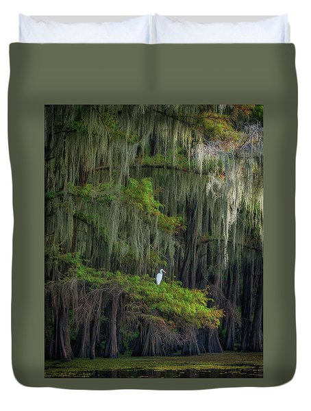 A Perch With A View Duvet Cover