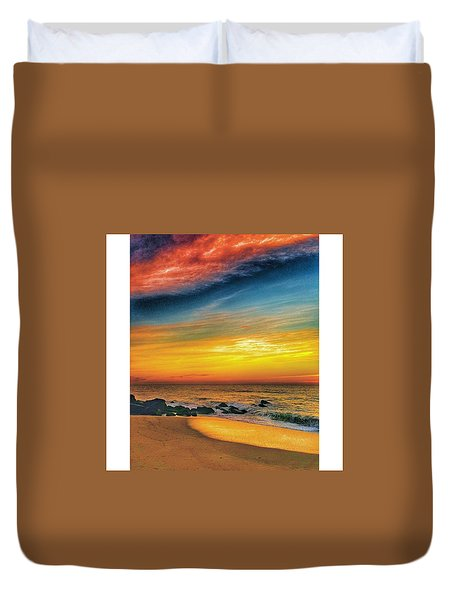 Beach Colors Duvet Cover