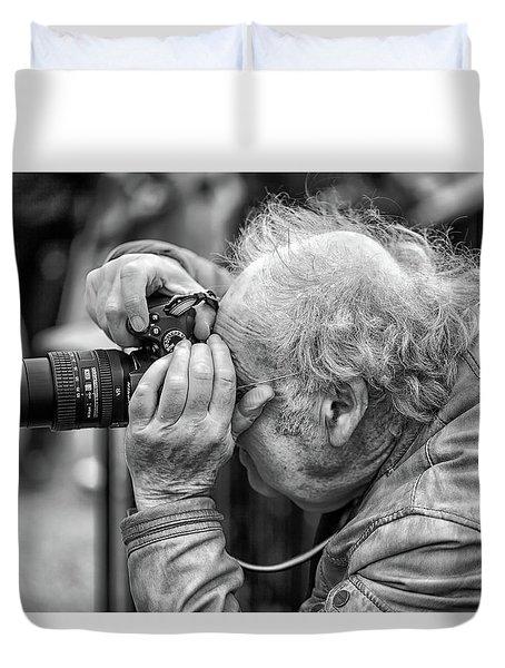 A Photographers Photographer Duvet Cover