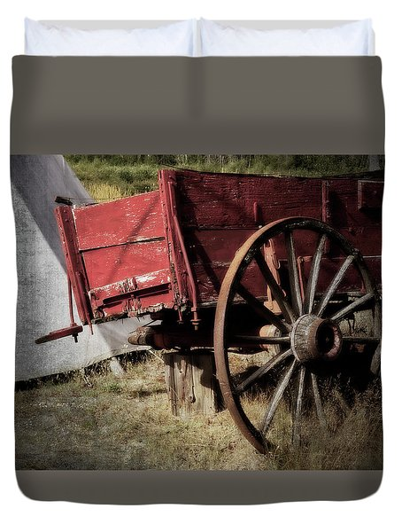 A Piece Of Our History - 365-69 Duvet Cover