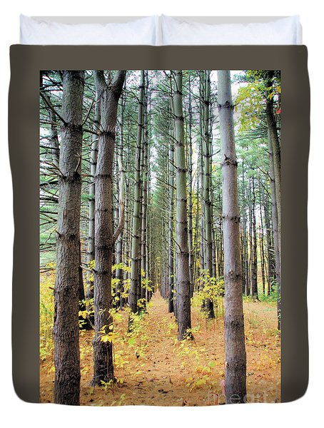 A Pines Army Duvet Cover