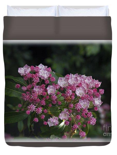 A Pink Bunch Duvet Cover