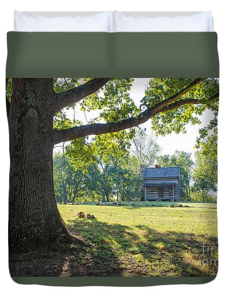 A Pioneer's Stake Duvet Cover