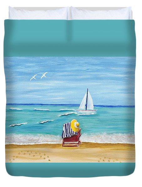 A Place For Rest Duvet Cover by Susan Schmitz