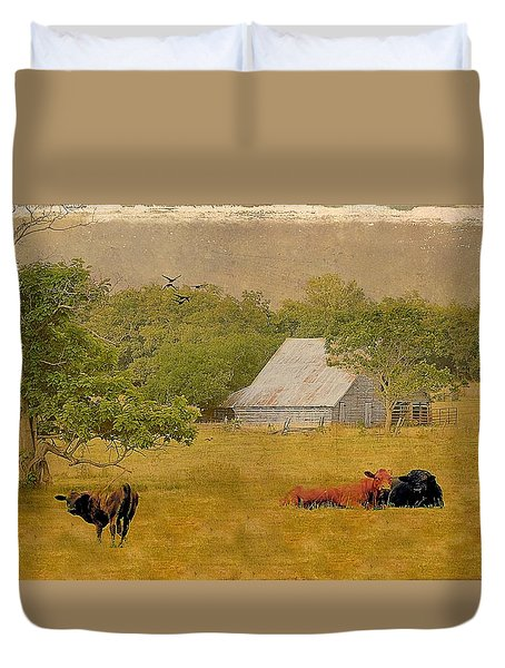 A Place For Togetherness Duvet Cover by Jan Amiss Photography