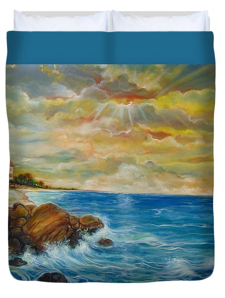 A Place In My Dreams Duvet Cover