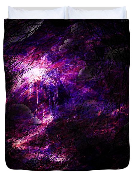 A Place Of Agony Duvet Cover by Rachel Christine Nowicki