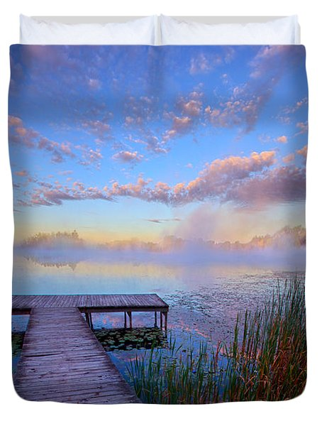 A Place Of Quiet Reflection Duvet Cover by Phil Koch