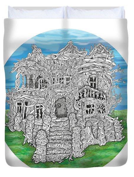 House Of Secrets Duvet Cover