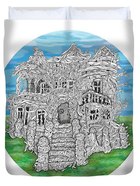 House Of Secrets Duvet Cover