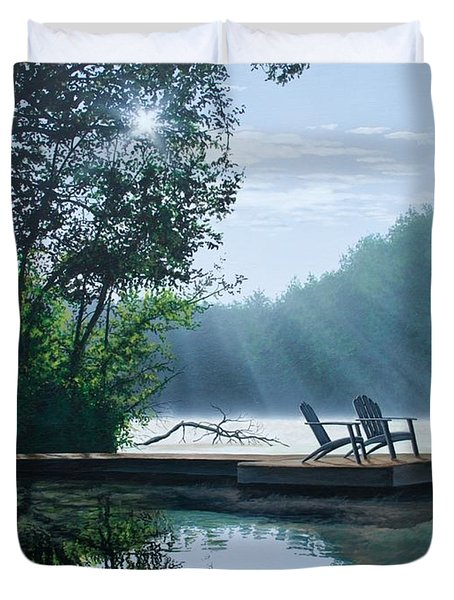 A Place To Ponder Duvet Cover