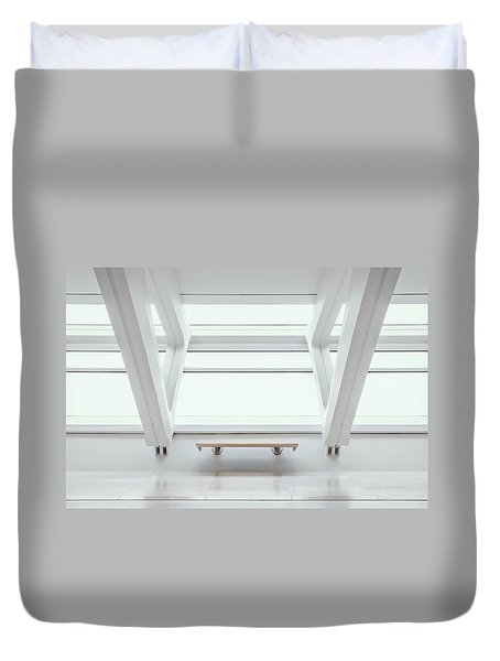 A Place To Sit 1 Duvet Cover