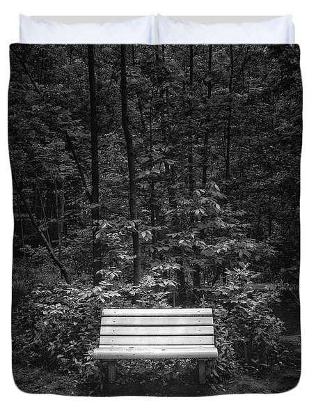 A Place To Sit Duvet Cover