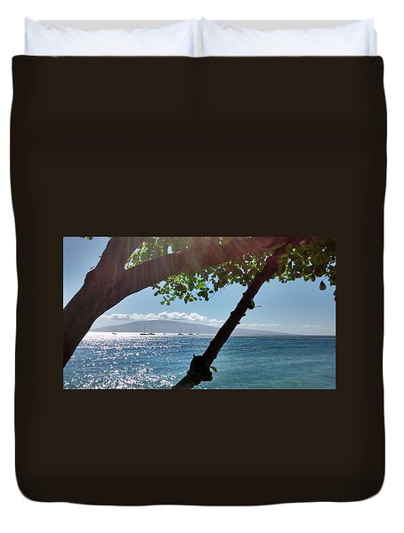 A Place To Stay Duvet Cover