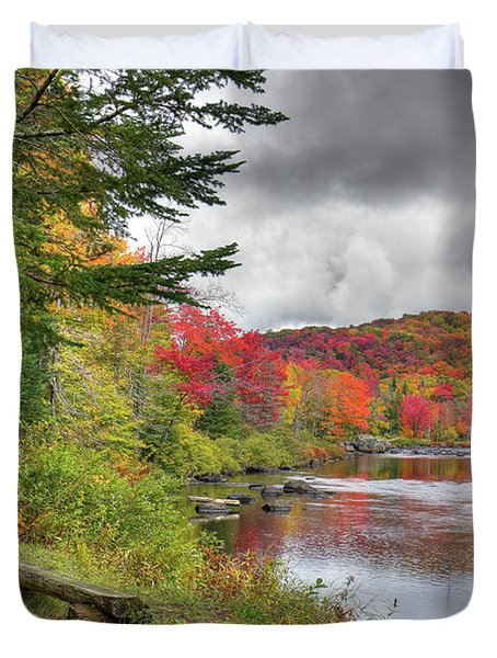 A Place To View Autumn Duvet Cover