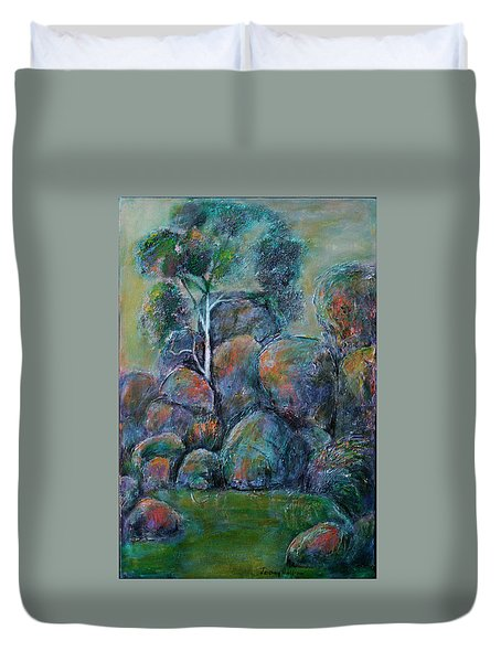 A Place Without Time Duvet Cover