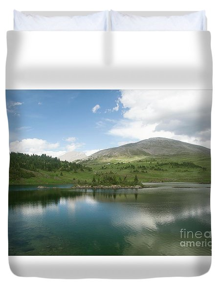 A Poet's Muse Duvet Cover