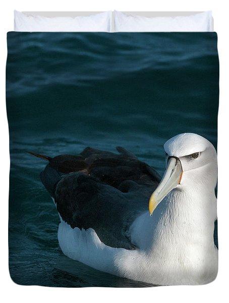A Portrait Of An Albatross Duvet Cover
