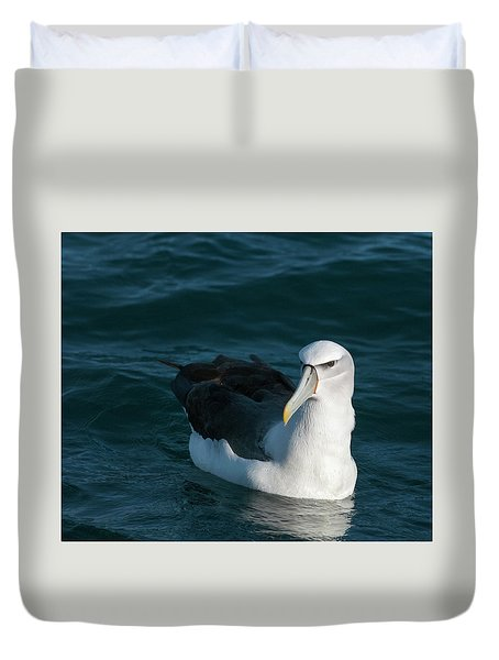 A Portrait Of An Albatross Duvet Cover