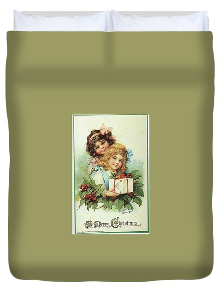 A Present For You Duvet Cover