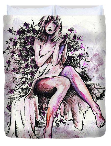 A Pretty Flower Duvet Cover