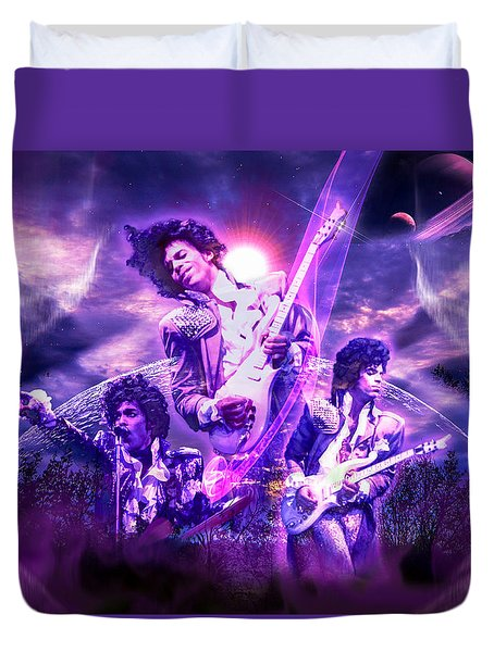A Prince For The Heavens  Duvet Cover