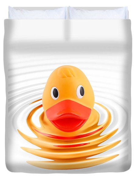 A Quick Dip Duvet Cover by Martin Williams