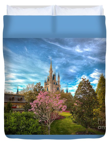 A Quiet Countryside Duvet Cover