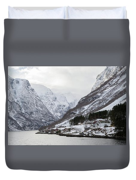A Quiet Life Duvet Cover