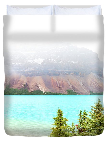Duvet Cover featuring the photograph A Quiet Place by John Poon