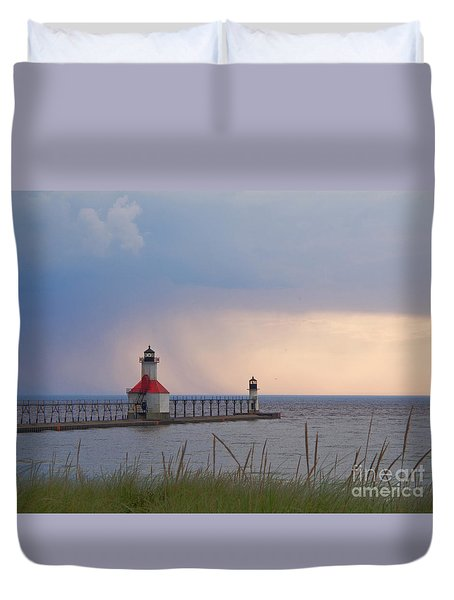 A Quiet Wonder Duvet Cover