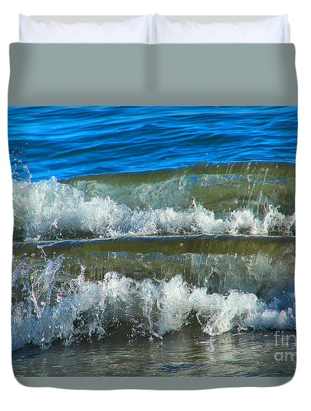 A Race For Non-existence, Point Reyes National Seashore, Marin C Duvet Cover