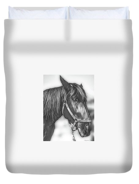 A Real Beauty Duvet Cover