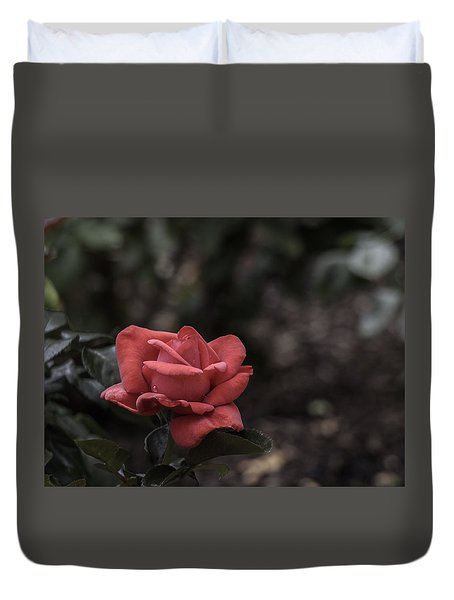 A Red Beauty Duvet Cover