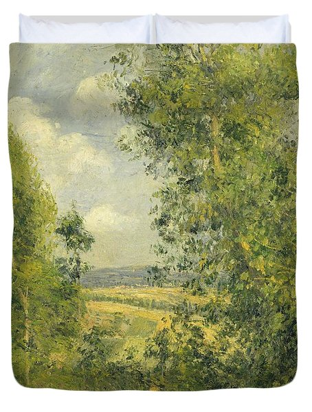 A Rest In The Meadow Duvet Cover